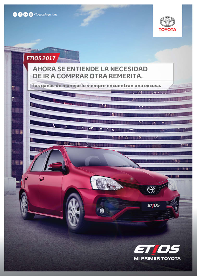 """TV + MUPIS ETIOS """"EXCUSA"""" 12"""