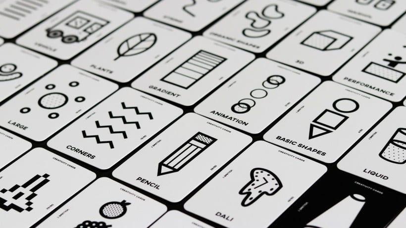 Una baraja de cartas para impulsar la creatividad 1