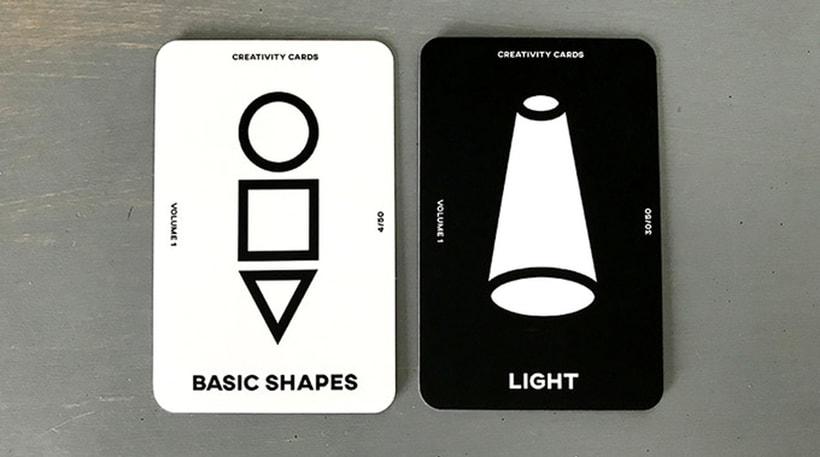 Una baraja de cartas para impulsar la creatividad 7