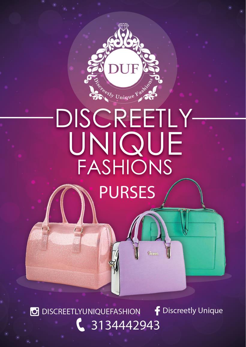 [FLYER] DUF Discreetly Unique Fashions -1