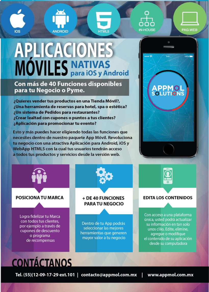 [FLYER] APPMOL Solutions 0