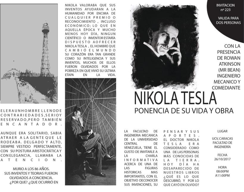 Conferencia de Nikola Tesla -1