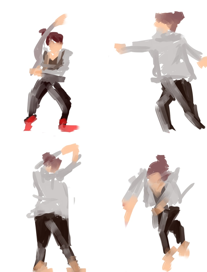 Dibujo en movimiento (movimiento seguido) -1