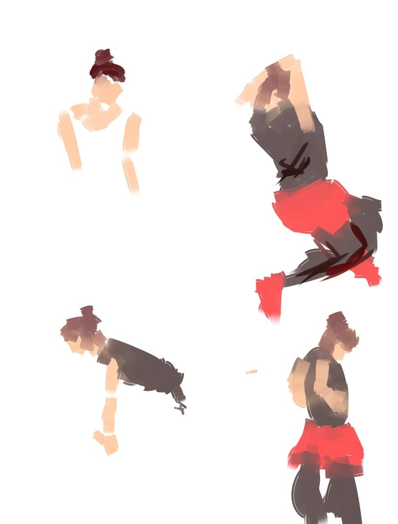 Dibujo en movimiento (movimiento seguido) 2