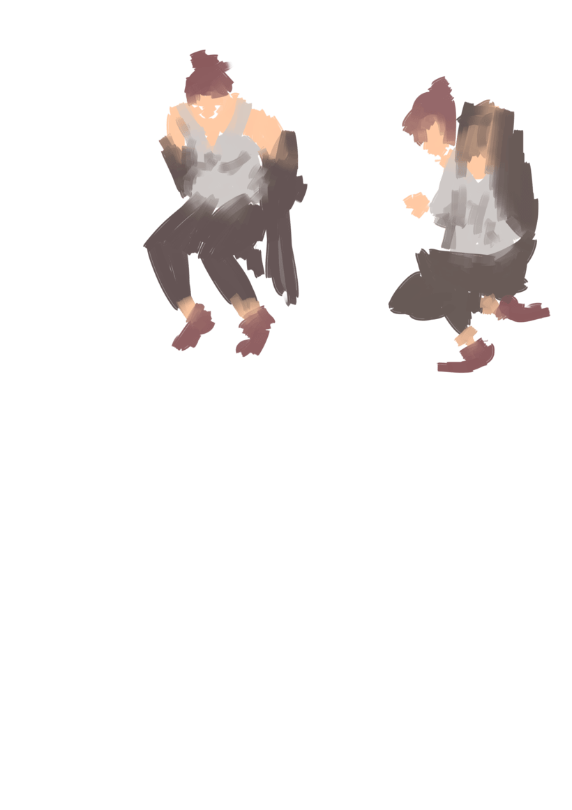 Dibujo en movimiento (movimiento seguido) 3