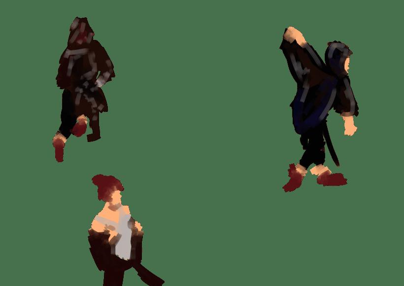 Dibujo en movimiento (movimiento seguido) 4