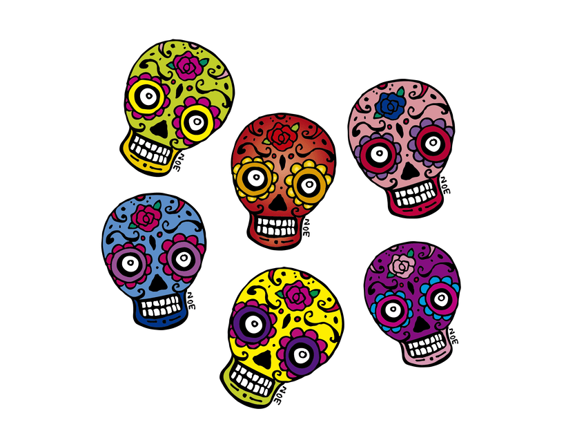 Mexican Skulls -1