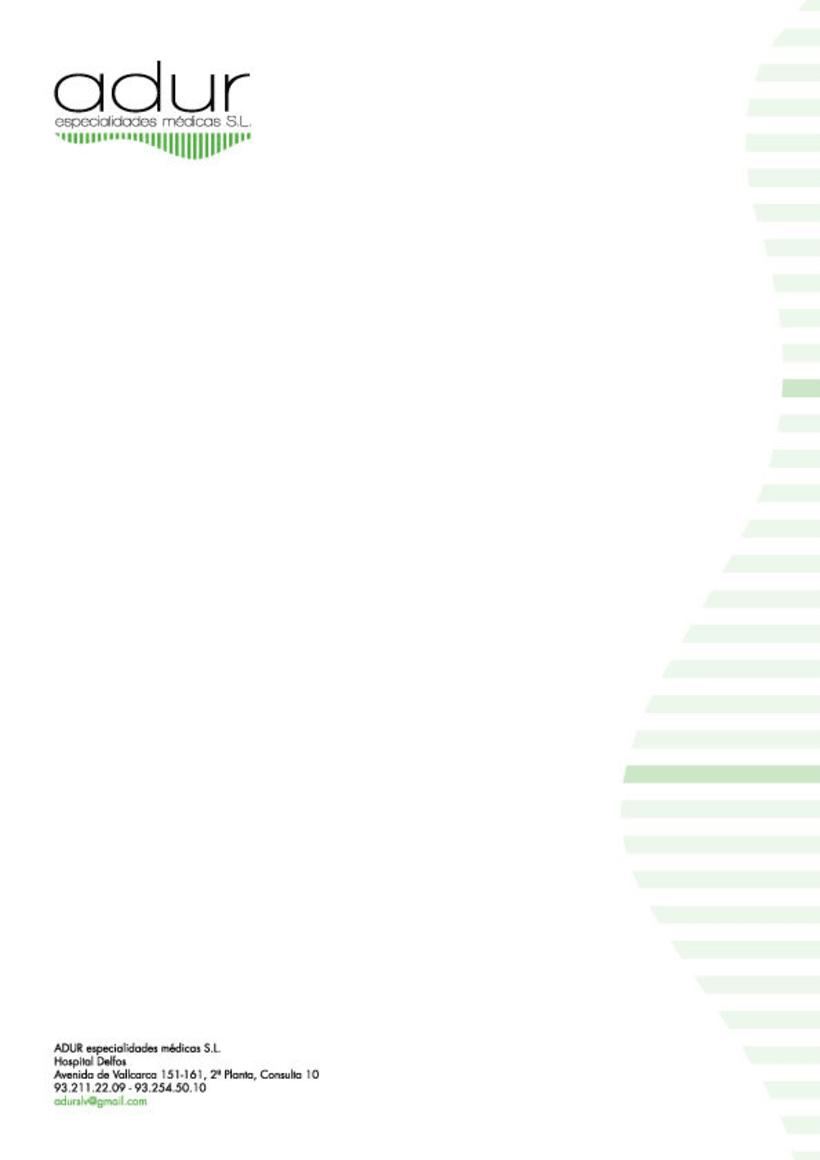 Adur Especialidades Médicas, proyecto para Arquivistes 4