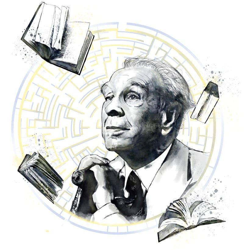 Homenaje a Jorge Luís Borges -1