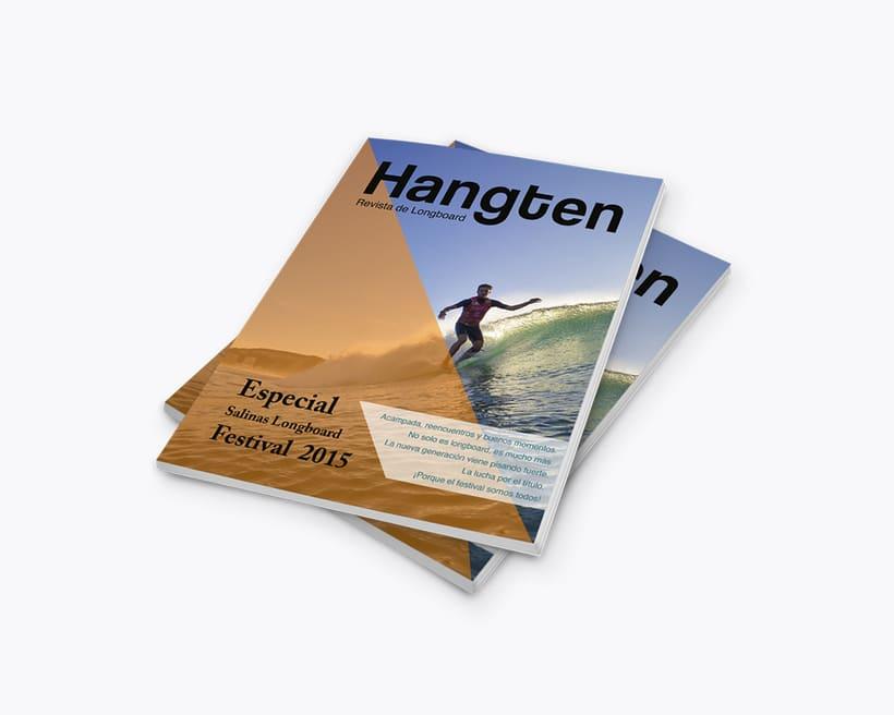 Hangten \ Diseño editorial & merchandising 0