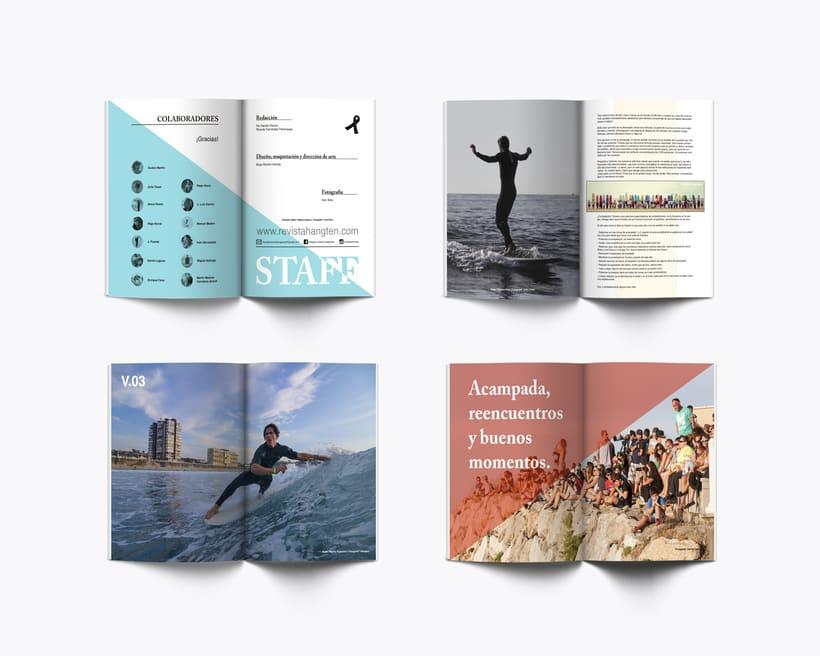Hangten \ Diseño editorial & merchandising 1