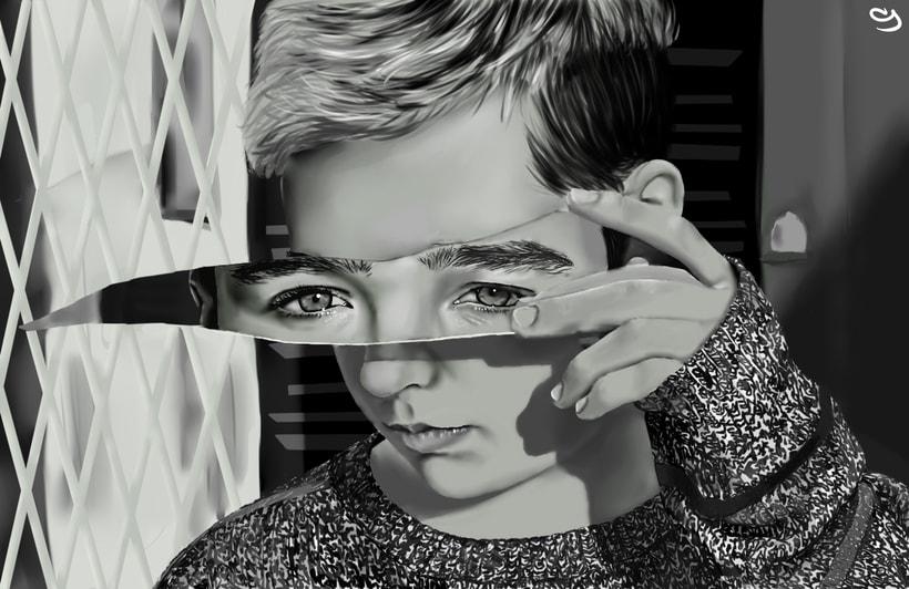 Retrato digital 0