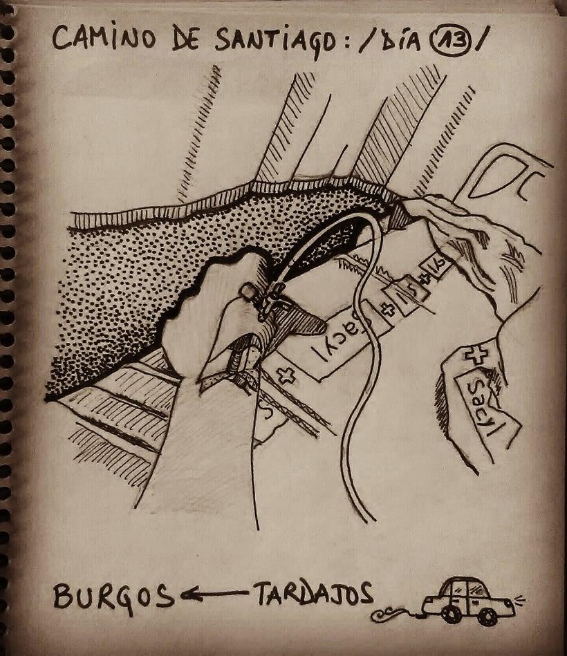 Diario ilustrado de una peregrina 10