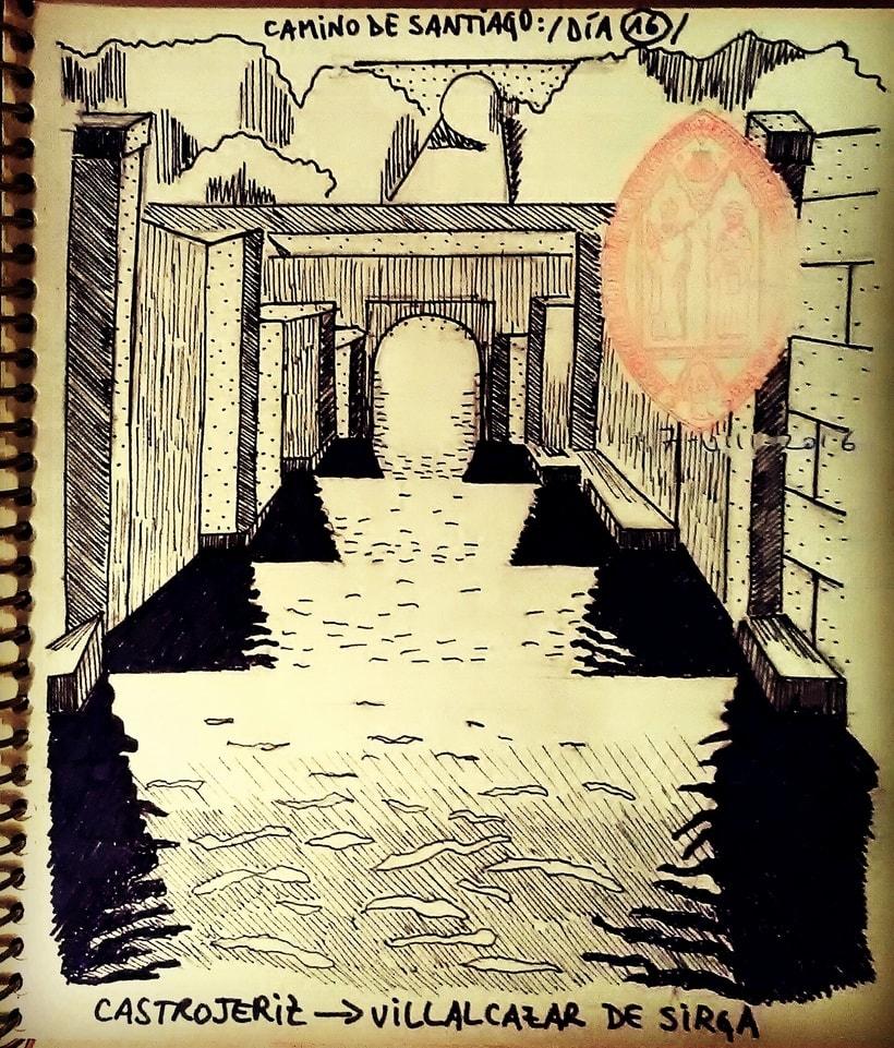 Diario ilustrado de una peregrina 12