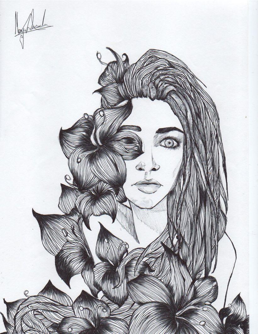 Las mujeres y las flores tienen mucho que ver 5