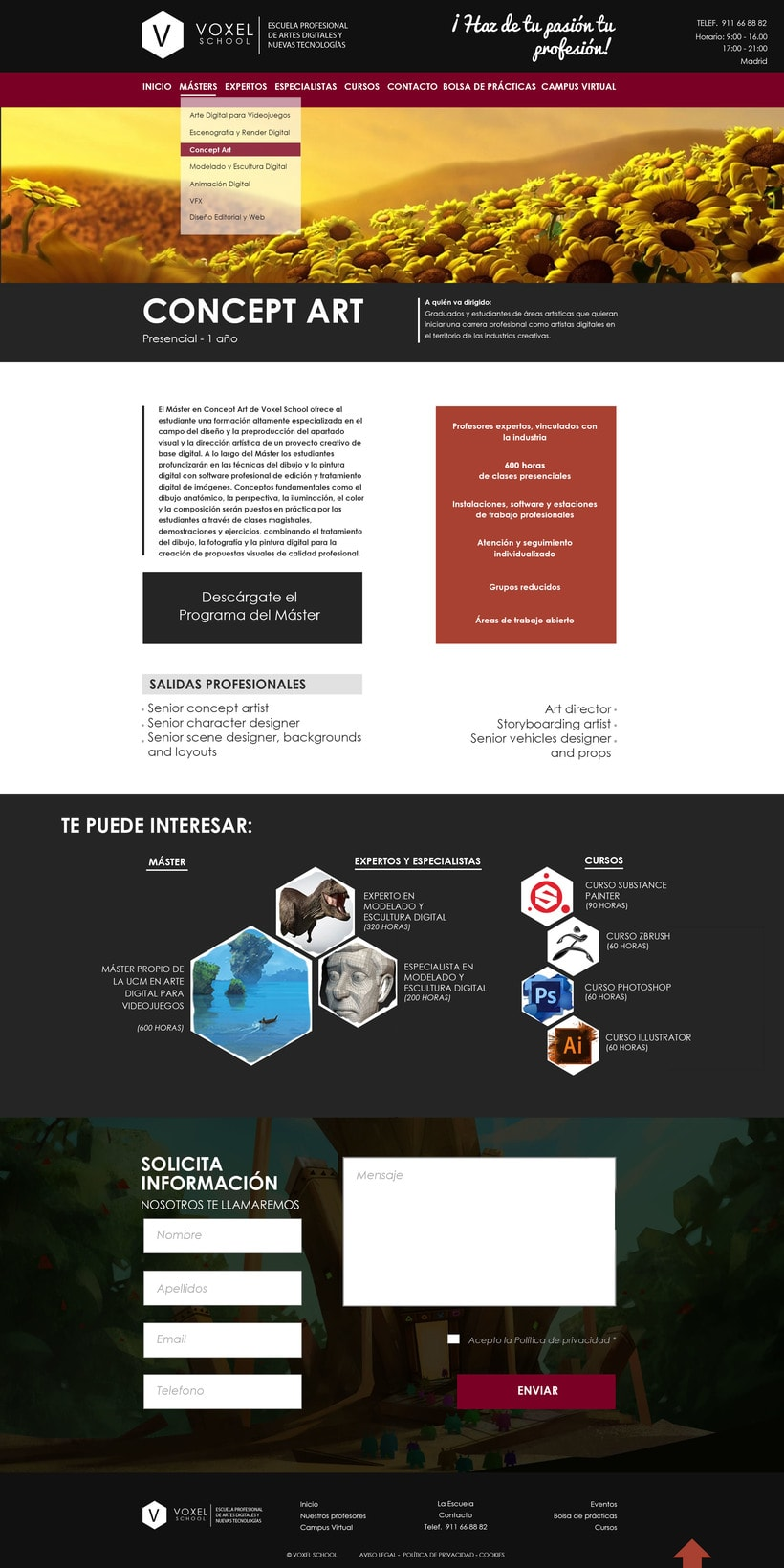 Proyecto para web. 3