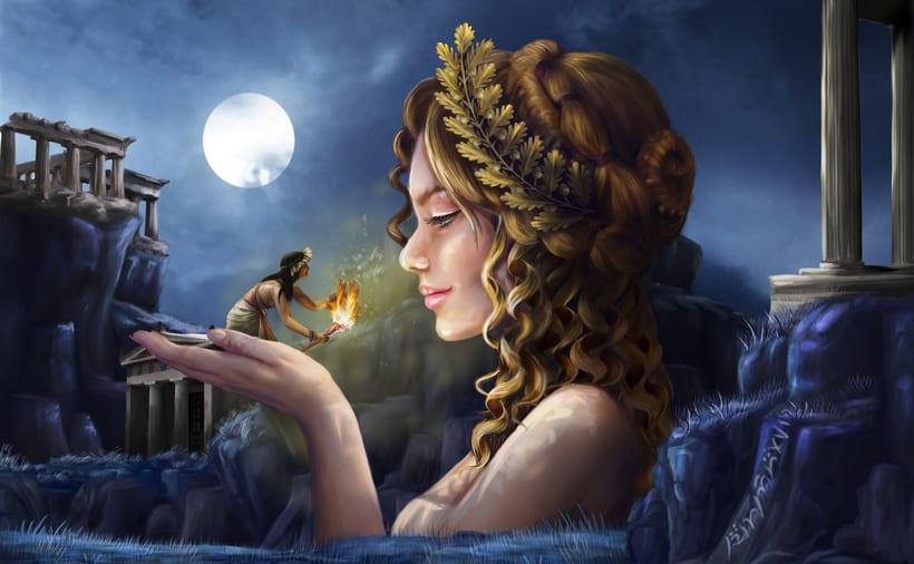 diosas / godess (mas en http://eldogmadepandora.wixsite.com/susanaconde 2