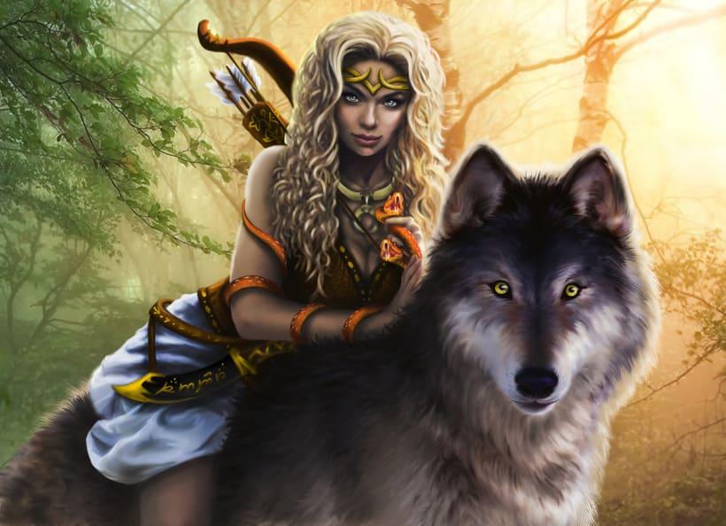diosas / godess (mas en http://eldogmadepandora.wixsite.com/susanaconde 3