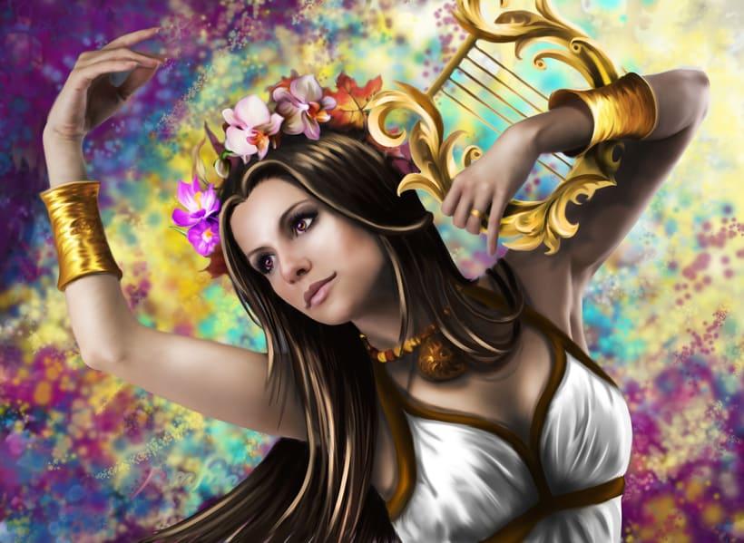 diosas / godess (mas en http://eldogmadepandora.wixsite.com/susanaconde 6