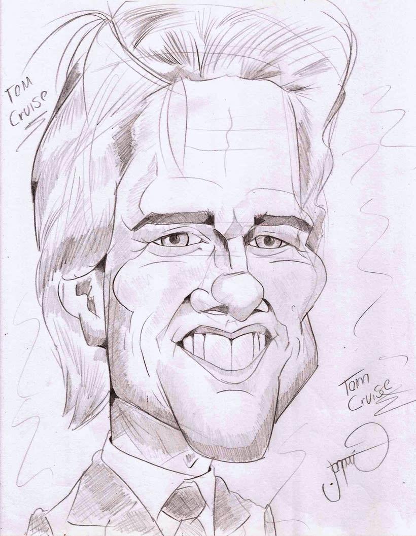 Tom Cruise Caricature 0