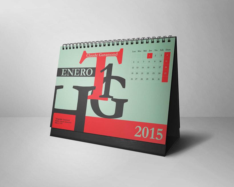 Calendario Tipográfico 2015 0