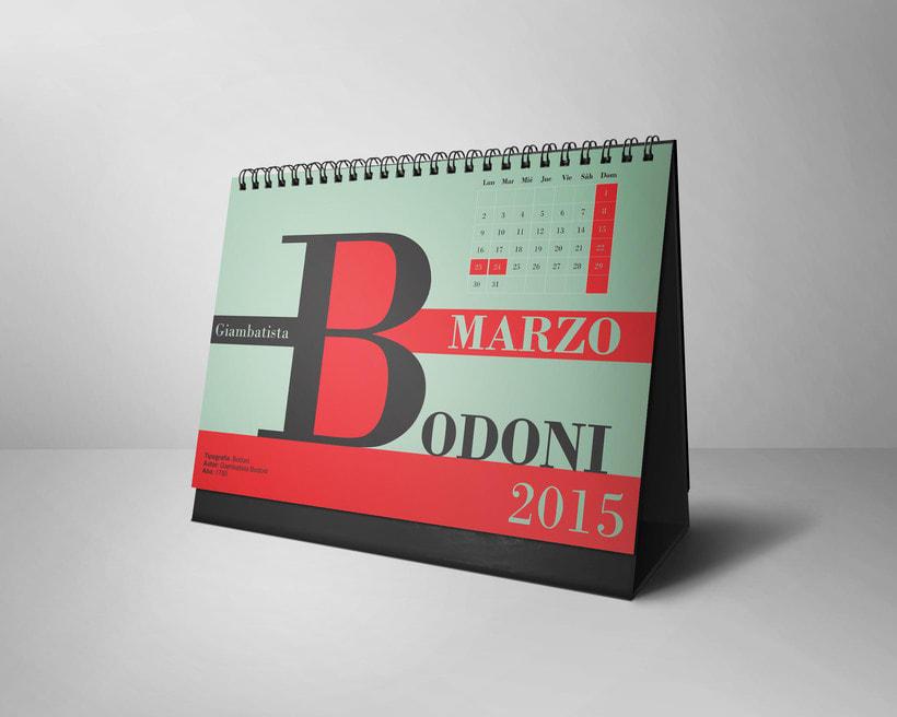 Calendario Tipográfico 2015 2