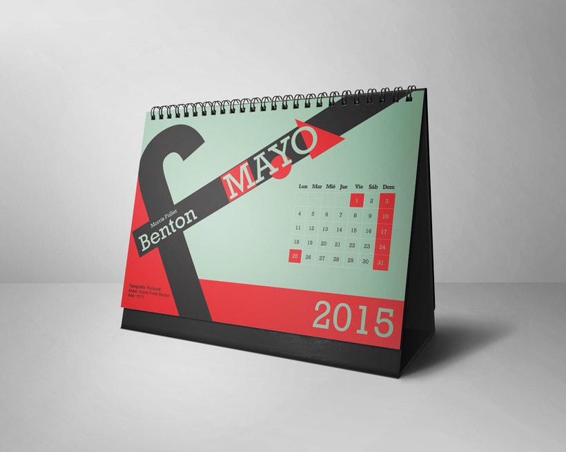 Calendario Tipográfico 2015 4