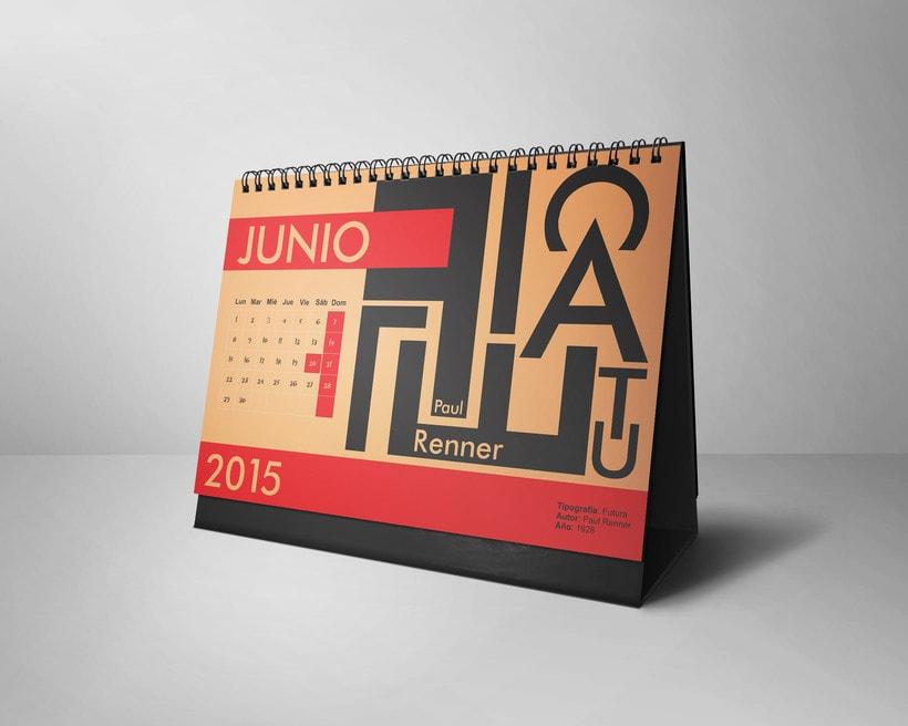 Calendario Tipográfico 2015 5