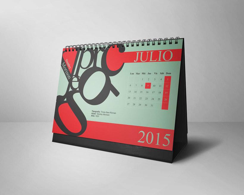 Calendario Tipográfico 2015 6