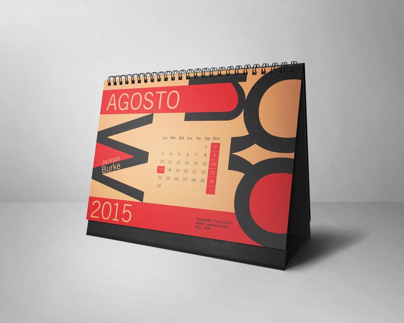 Calendario Tipográfico 2015 7