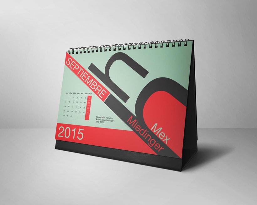 Calendario Tipográfico 2015 8
