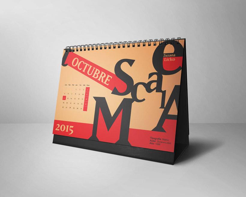 Calendario Tipográfico 2015 9