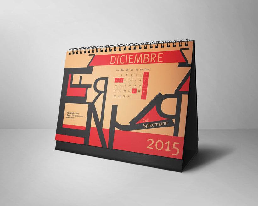 Calendario Tipográfico 2015 11