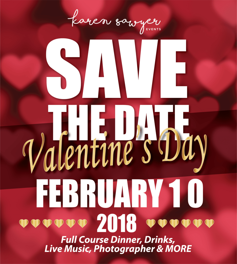 [PROMOS] SAVE THE DATE - Karen Sawyer 2