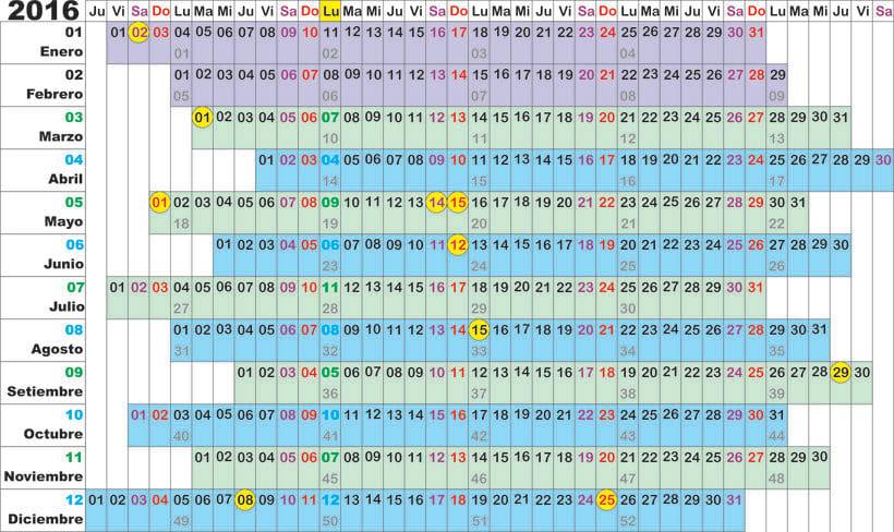 Calendario Algorítmico 3