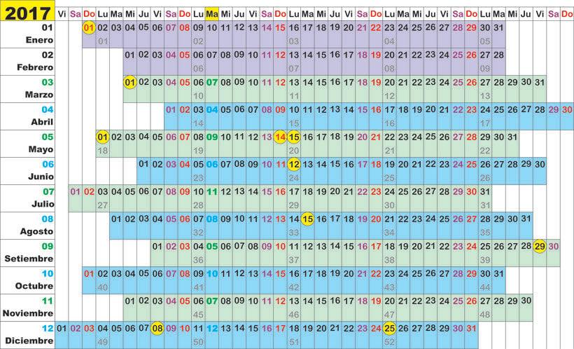 Calendario Algorítmico 4