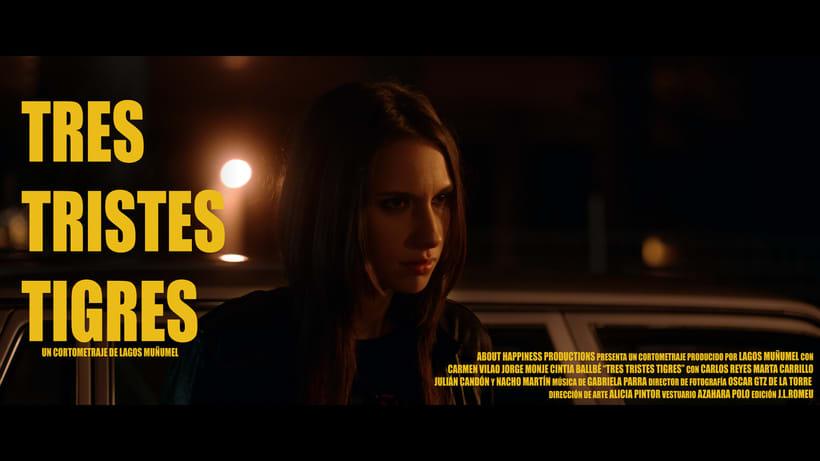 Tres Tristes Tigres (trailer cortometraje) 2