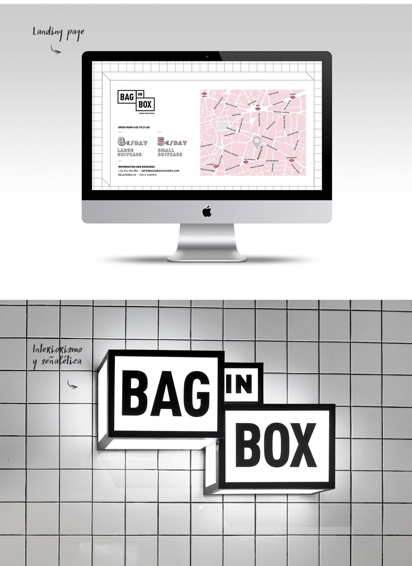 BAG IN BOX. Proyecto Locker 360º 1