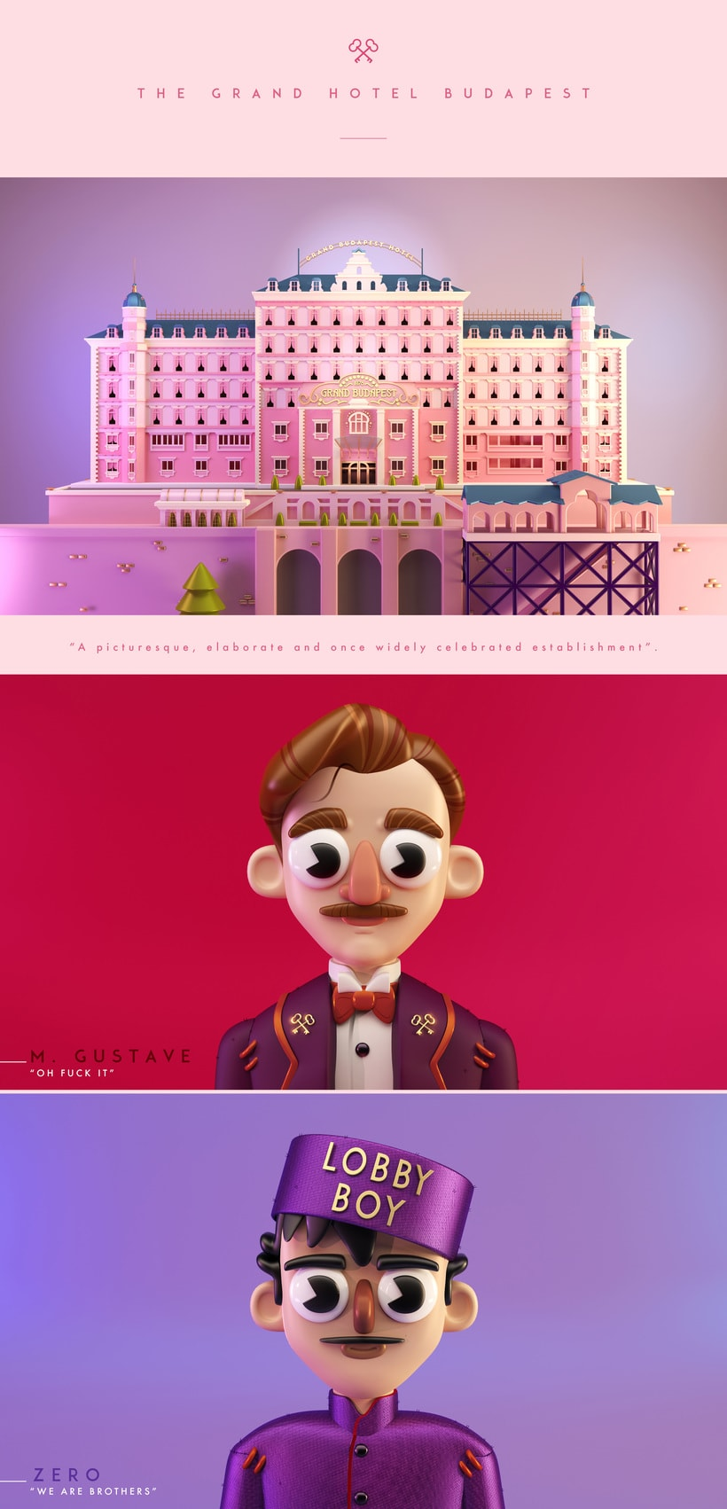 The Grand Hotel Budapest, tribute to W.A. -1