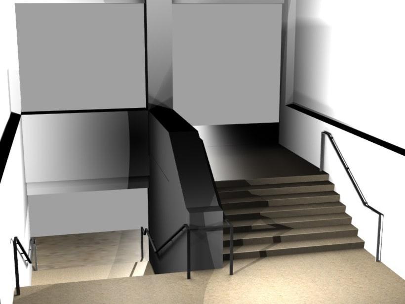 Modificación de pasamanos y escalera 6