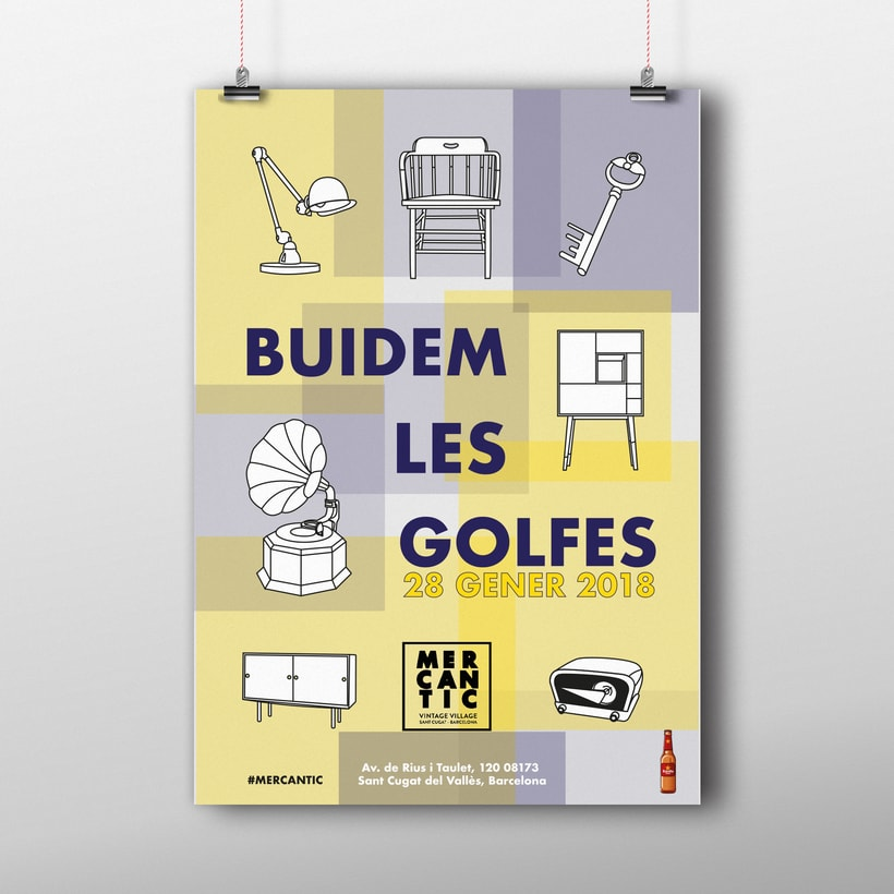 Cartel: Buidem les golfes -1