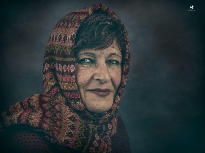 retrato   Mi Madre  -1