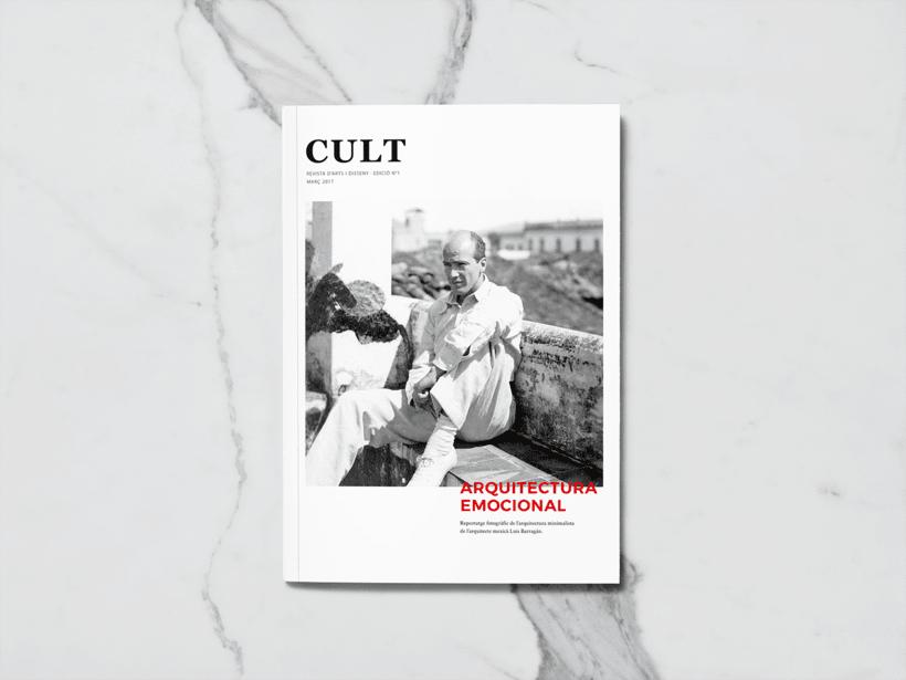 CULT Magazine - Editorial Design 0