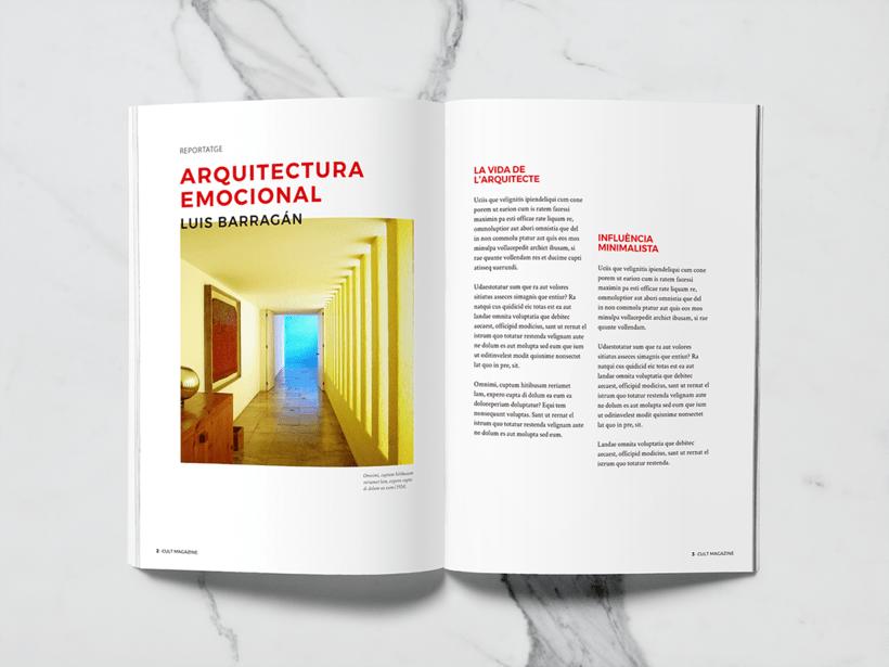 CULT Magazine - Editorial Design 1