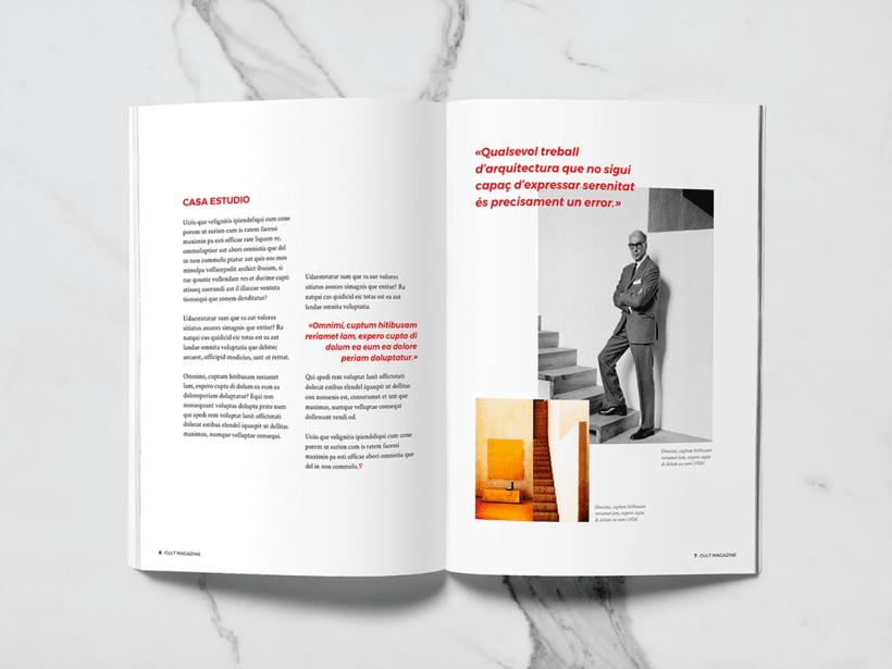 CULT Magazine - Editorial Design 3