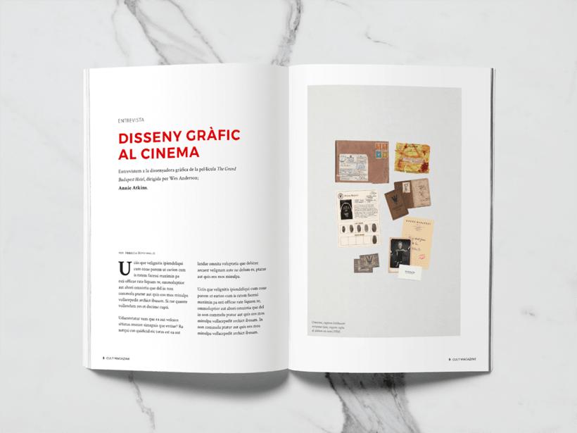 CULT Magazine - Editorial Design 4