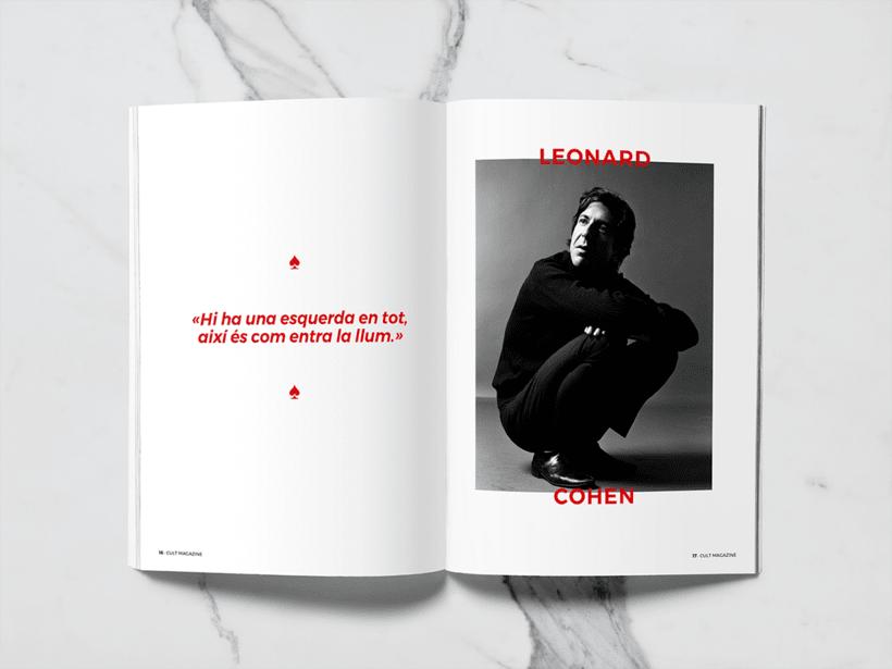 CULT Magazine - Editorial Design 8