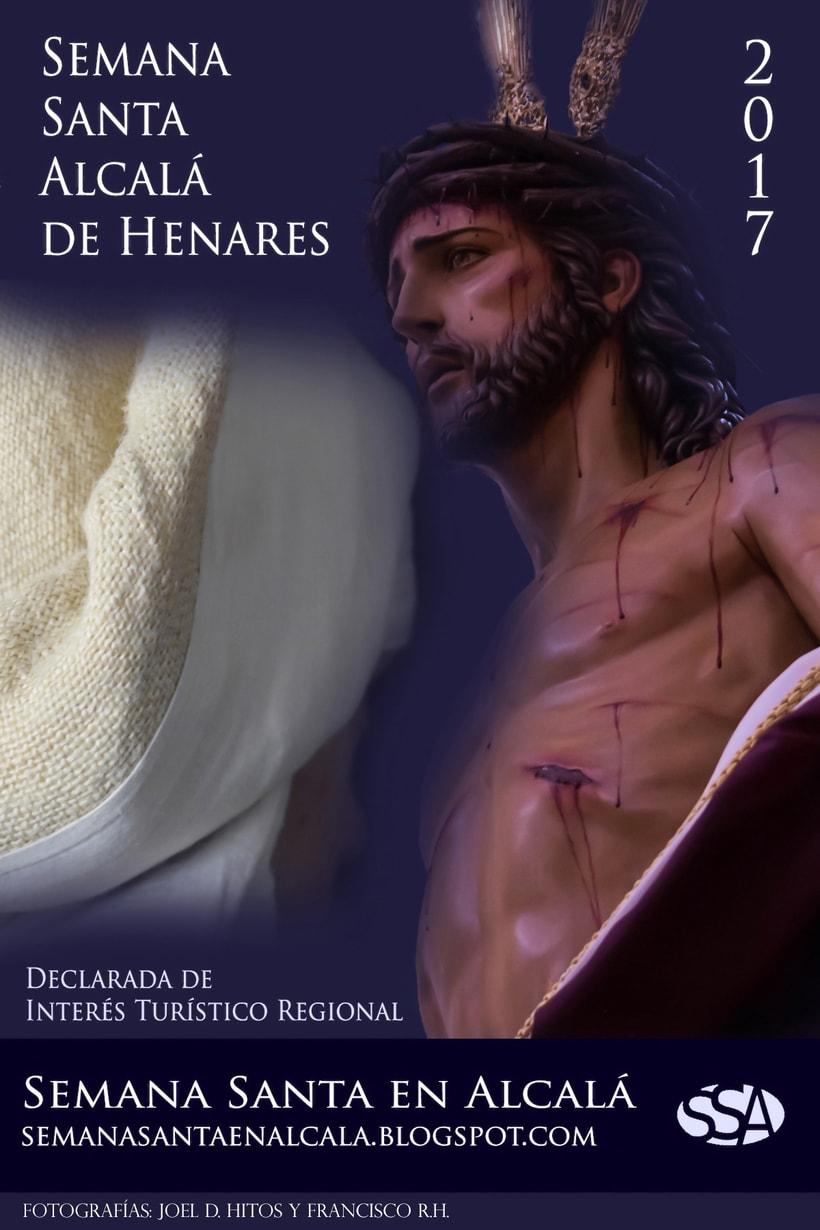 Carteles Semana Santa en Alcalá 1