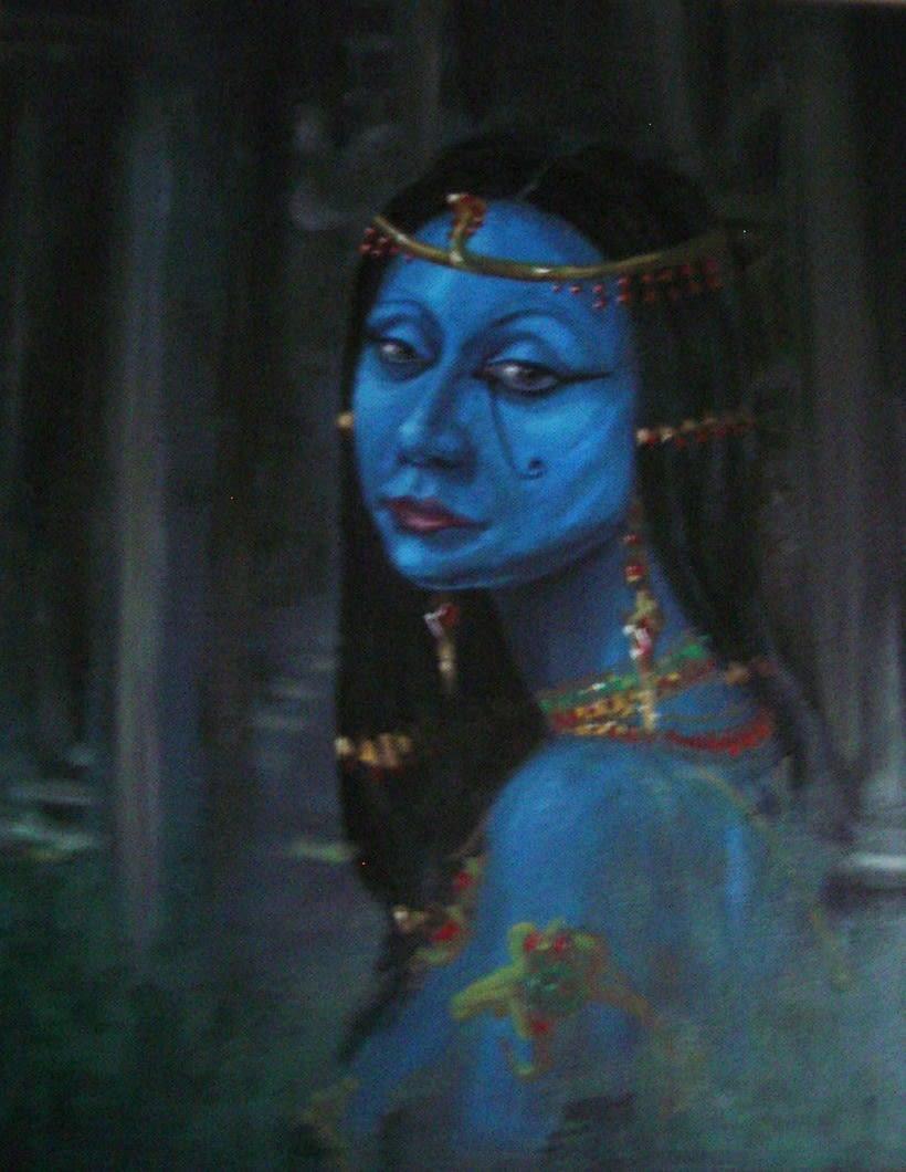 Cuadro: Egipcia 2