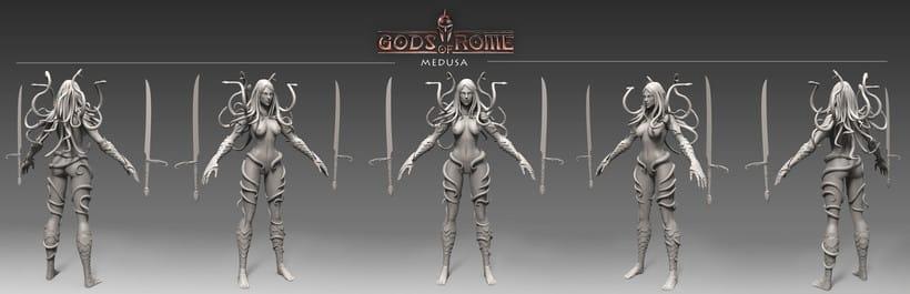 """Personajes para """"Gods of Rome"""" 1"""